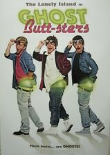 THE LONELY ISLAND 2011 GHOST BUTT-STERS PROMOTIONAL POSTER ~NEW/MINT CONDITION~
