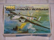 Maquette FROG 1/72ème ARMSTRONG WHITWORTH WHITLEY Mk.V/ Mk.VII Bomber