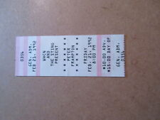 1992 Peter Frampton Concert Ticket Stub at The Sting, New Britain Ct