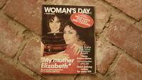 OLD AUSTRALIAN WOMENS DAY MAGAZINE, ELIZABETH TAYLOR APRIL 1981