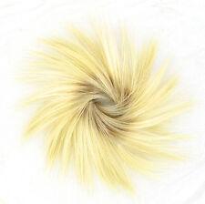 Crocchia chignon Coda di cavallo biondo molto dorato chiaro rif.: 21/ys PERUK