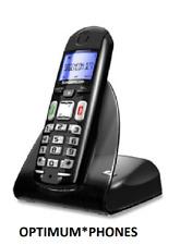 NEW SAGEMCOM D27T DIGITAL CORDLESS TELEPHONE BLACK BT