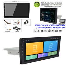 """9"""" 1DIN HD Touch 1+16GB Car Stereo Radio GPS MP5 DVR Wifi BT DAB Mirror Link OBD"""