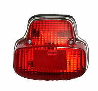 Vespa VBC VLB GL Super Sprint Tail Back Light Assembly Red With Rubber Gasket