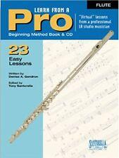 Santorella Learn From A Pro Flute Method Book w/ Cd
