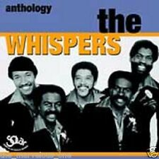 "THE WHISPERS~""Anthology""~Brand New  (un- Sealed)"" 2-Disc Cd Case Set!!!"