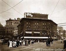 Monroe Clothing Store, Yonkers, New York - 1920 - Historic Photo Print