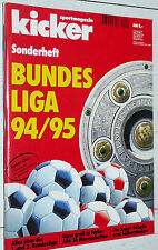 KICKER FUSSBALL BUNDESLIGA 1994-1995 SONDERHEFT GUIDE BORUSSIA DORTMUND FOOTBALL