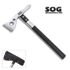SOG - TACTICAL TOMAHAWK Satin Finish w/ Sheath F01P-N New