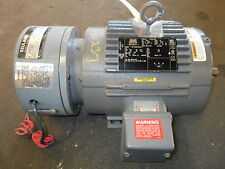 NEW Lincoln 1 HP TEFC AC Motor, Type# CCN6G1UUC64, w/ Reuland Brake, 460 V