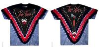 OFFICIAL LICENSED - PINK FLOYD - HAMMERS V TIE DYE T SHIRT THE WALL ROCK GILMOUR