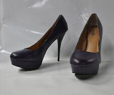 "Charlotte Russe purple round toe hi-heel pumps - Size 11 w/ 5.5"" heel - New"
