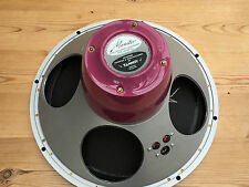 "Lovely pair NEW build TANNOY 15"" Red Reds (Gold) speakers new parts LSU/HF/15.L"