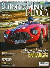 Automobilismo d'Epoca (2015) : Lancia Aprilia, Fiat 1100 R , Skoda 110R, .......