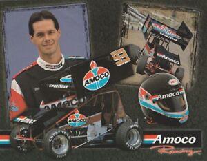 2000 Dale Blaney Amoco World Of Outlaws WOO Sprint Car Hero Card