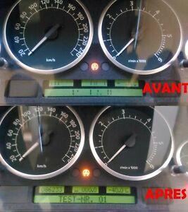 Réparation affichage compteur Range Rover L322