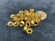 Brass Metric Hex Nuts Din 934 Metric Nuts M2 M3 M4 M5 M6 Amp M8 Yellow Brass
