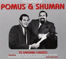 SONGS OF POMUS & SHUMAN 3 CD NEUF