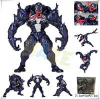 "Marvel Spider Man Venom No.003 Revoltech Series 7"" PVC Action Figure Toy Gift"