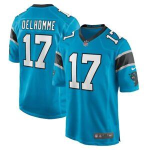 Carolina Panthers Jake Delhomme #17 Nike Blue NFL Game Retired Player Jersey
