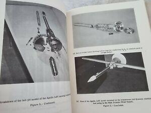 Original NASA Apollo Mission Era Report Apollo Launch Escape Vehicle