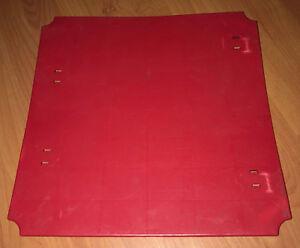 Single 1 Playskool Pipeworks RED PANEL Piece Vintage OEM Part Authentic