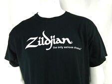 ZILDJIAN Shirt L The Only Serious Choice Turkish Cymbals Avedis USA OOP RARE HTF