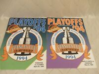 Vancouver Canucks Hockey Magazine 1994 Stanley Cup PLAYOFFS Flames Maple Leafs