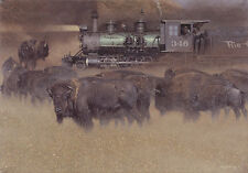"""Defiant One"" Craig Tennant Limited Edition Western Fine Art Giclee Canvas"