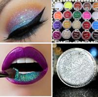 Women Iridescent Profession Makeup Powder Glitter Eyeshadow Beauty Pigment N09