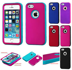 iPhone 5 5S Verge Hybrid 3-Layered Protective Cover Case