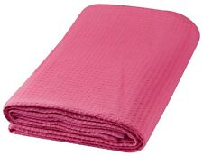 100% Cotton Waffle Weave Thermal Throw Blanket All Weather Blanket.