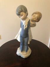 Lladro Limited Edition Peasant Boy and Girl Retired Rare Piece