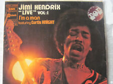 jimi hendrix live vol.1 i'm a man featuring curtis knight