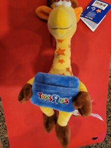 Toys R Us Geoffrey Giraffe 17 Inch Plush New With Tags