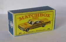 Repro Box Matchbox 1:75 Nr.20 Taxi-Cab