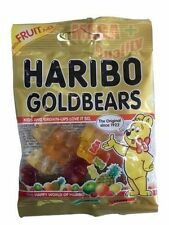 HARIBO Original GOLDBEARS Fresh Fruity Gummy Chewy Candy Bear Shaped 30g