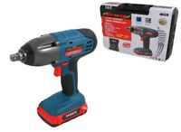"""EX DEMO 24V LITHIUM 1/2"""" CORDLESS IMPACT WRENCH RATCHET & 1 BATTERY & CHARGER"""