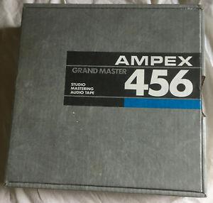 """2"""" Ampex 456 Grand Master Studio Audio Music Tape"""