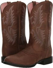 Ariat 245023 Womens Full-grain Leather Western Boots Driftwood Brown Size 7.5 B