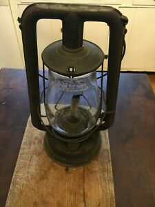 Embury No. 0 Defiance Lantern with Clear Globe