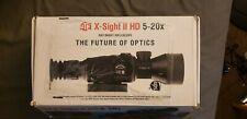 ATN X-Sight II HD 5-20X Day Night Rifle Scope w/1080P Video, Range Finder, WIFI