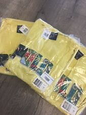 NWT Deadstock RALPH LAUREN POLO SPORT VINTAGE T SHIRT 90s Yellow Floral Spellout