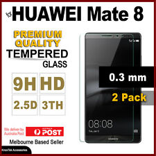 2x GENUINE Tempered Glass Screen Protector Film Guard for Huawei Ascend Mate 8