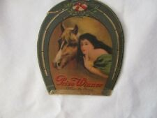 Vintage Prize Winner Needle Case Czechoslavakia horse race