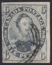 Canada 6d Consort, Scott 5b, F-VF used, catalogue - $1,200