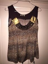 FRIME PARIS CUTE TOP, SHIRT, SIZE  LARGE