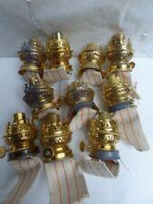 LOT de 10 TÊTES de LAMPE à PETROLE