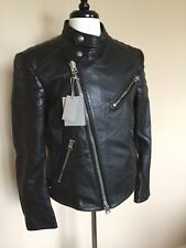 NWT Tom Ford Leather Icon Moto Jacket 52 IT Extra Slim Made in Italy $5995