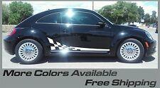 Volkswagen Beetle Turbo R type Rocker Panel Vinyl Graphics Decals Side Checkered